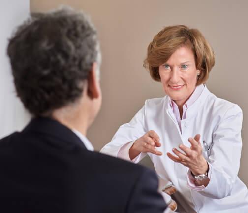 Beratung eines Patienten
